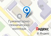 Азовский гуманитарно-технический колледж на карте