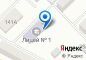 Лицей г. Азова на карте