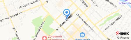 Велес на карте Азова