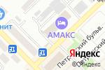 Схема проезда до компании Amaks Отель Азов в Азове