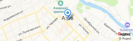 Радуга путешествий на карте Азова
