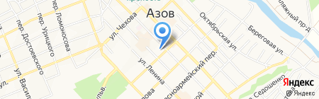 Терминал КБ Центр-инвест на карте Азова