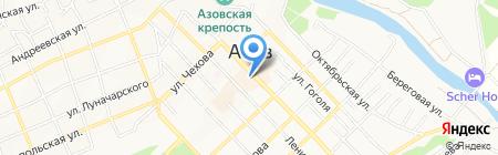 Азовский историко-археологический и палеонтологический музей-заповедник на карте Азова