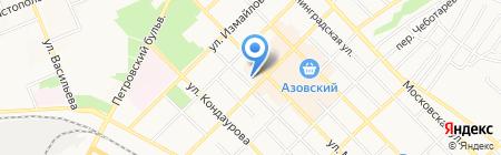 Детский сад №32 Якорек на карте Азова