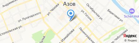 Деметра на карте Азова