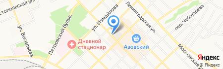 Клевый на карте Азова