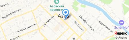 Нотариус Павловская Т.Г. на карте Азова
