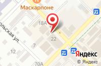 Схема проезда до компании Сервис-Окна в Азове