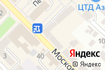 Схема проезда до компании Мелисса в Азове