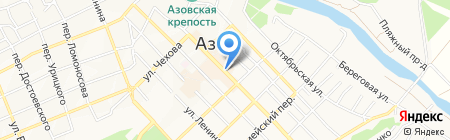 Читай-Теленеделя на карте Азова
