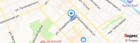 Эдем на карте Азова