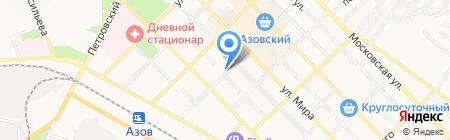 ТОАВТО на карте Азова