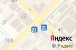 Схема проезда до компании Киоск по продаже фруктов и овощей в Азове