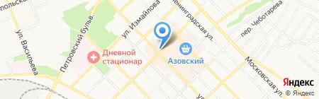 Твой телефон на карте Азова