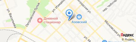 Платежный терминал Хоум Кредит Энд Финанс Банк на карте Азова