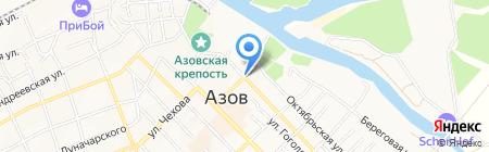 МСК на карте Азова