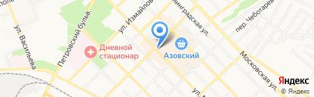 585 на карте Азова