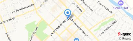 Потолкофф на карте Азова