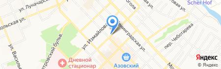 Ростехинвентаризация-Федеральное БТИ на карте Азова