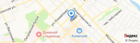 Спектр на карте Азова