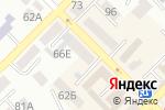 Схема проезда до компании Юнис швейные машины в Азове