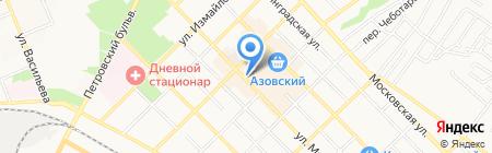 Mozart House на карте Азова