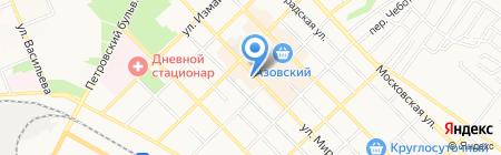 Радуга на карте Азова