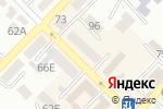 Схема проезда до компании Аверс в Азове