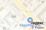 Схема проезда до компании Азов Экспертиза в Азове