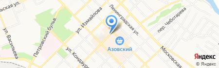 Магазин обуви на карте Азова