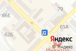 Схема проезда до компании FixPrice в Азове