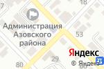 Схема проезда до компании Вечерняя (сменная) общеобразовательная школа №1 в Азове