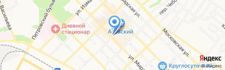 Много окон на карте Азова