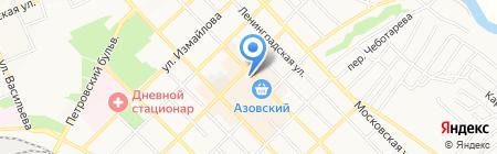 ШЕКСПИР на карте Азова