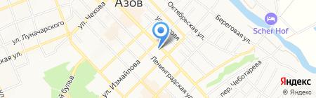 Croissants на карте Азова