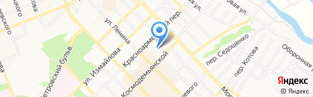 Детский сад №33 на карте Азова