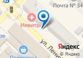 Азовский городской ломбард на карте