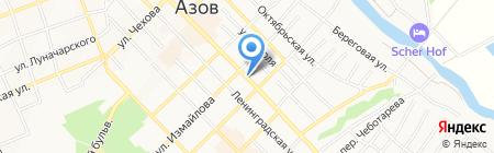 ЮгМедТранс на карте Азова