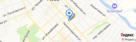 КПИ на карте Азова