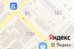 Схема проезда до компании МТС в Азове