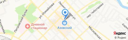 Digital TV на карте Азова