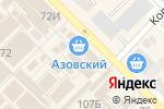 Схема проезда до компании Элемент в Азове