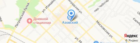 Арсенал на карте Азова
