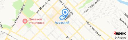 Ветеринарная лечебница на карте Азова