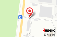Схема проезда до компании Темпсервис в Азове