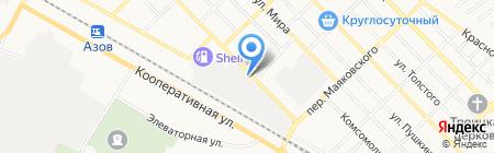 ДЕКОРМЕБЕЛЬ на карте Азова
