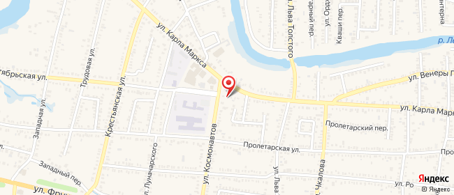 Карта расположения пункта доставки СИТИЛИНК в городе Кореновск