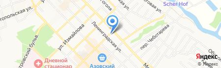 Киоск по продаже кондитерских изделий на карте Азова