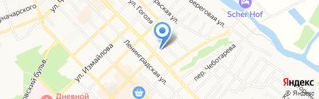 Комэкс на карте Азова