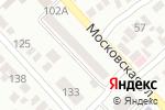 Схема проезда до компании Московский Индустриальный банк в Азове